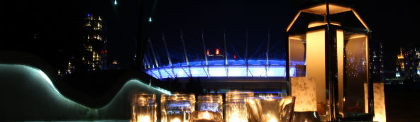 BC Place will glow Purple and Blue
